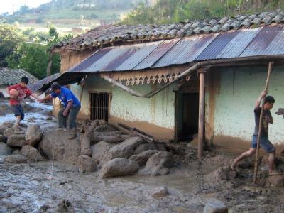 Erdrutsch in Peru