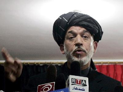 Hamid Karsai in Kandahar