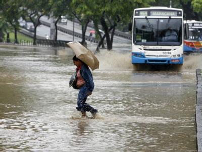Regen-Chaos in Rio