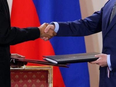 START-Vertrag unterschrieben