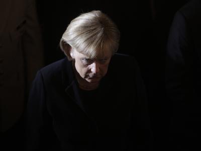 Merkel bei Trauerfeier