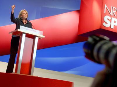Die SPD-Spitzenkandidatin für die Landtagswahl in Nordrhein-Westfalen, Hannelore Kraft.