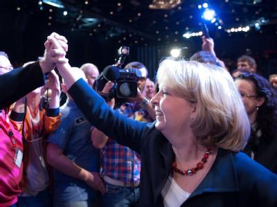 Wahlkampfauftakt mit Hannelore Kraft