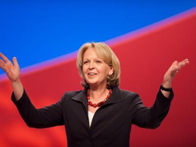 Die SPD-Spitzenkandidatin für die kommende Landtagswahl in Nordrhein-Westfalen, Hannelore Kraft.