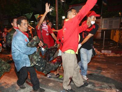 Tote bei Unruhen in Bangkok