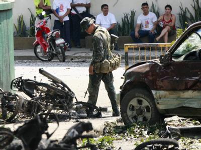 Bombenserie auf den Philippinen