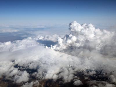 Der Vulkanausbruch auf Island beeinträchtigt den Luftverkehr in Europa.