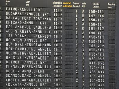 Flughafen Frankfurt weiter geschlossen