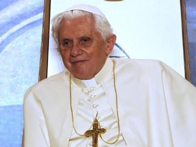 Papst Benedikt XVI. während seines Besuchs auf Malta.