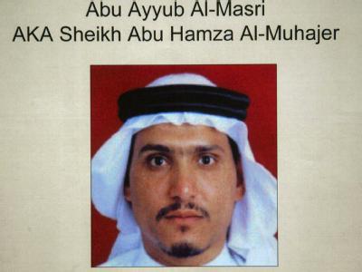 Das Foto der US-Armee zeigt den Anführer der Al-Kaida-Terroristen im Irak, den Ägypter Abu Ajjub (Archivfoto aus 2006).