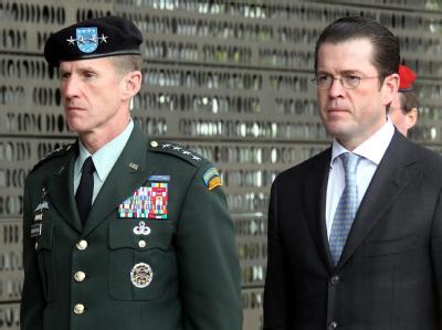 Guttenberg und McCrystal
