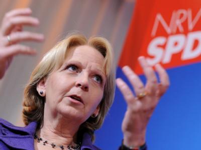 Die Macht zum Greifen nah? SPD-Spitzenkandidatin Hannelore Kraft im Wahlkampf.