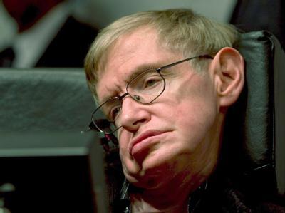 Der britische Astrophysiker Stephen Hawking. (Archivfoto vom 10.12.2006)