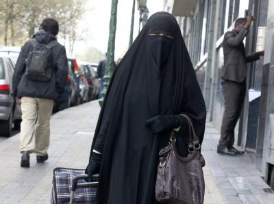 Verschleierte Muslimin