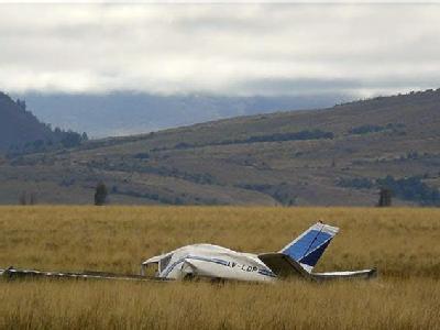 Ein lebensmüder Tourist soll für diesen Flugzeugabsturz in Argentinien verantwortlich sein.