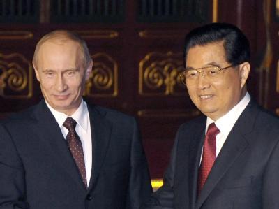 Putin und Jintao