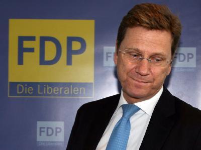 Wahlverlierer: Der FDP-Vorsitzende Guido Westerwelle (Archiv).