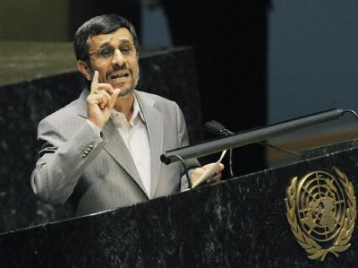 Der iranische Präsident Ahmadinedschad hat die USA in seiner Rede in New York scharf angriffen.