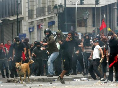 Eskalation der Proteste in Athen