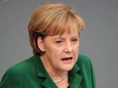 Bundeskanzlerin Angela Merkel sieht Europa am