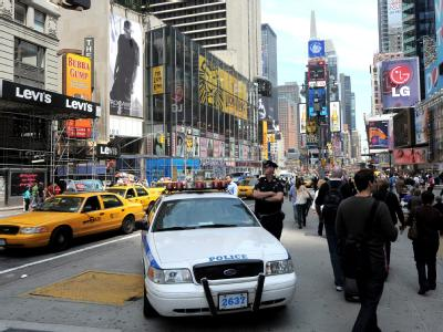 In New York sind die Sicherheitsmaßnahmen schon seit Tagen verstärkt worden.