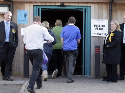 Parlamentswahl in Gro�britannien