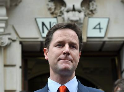 Der Liberaldemokrat Nick Clegg gilt als erklärter Gegner britischer Beteiligung am Irak-Krieg.