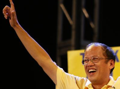Der philippinische Präsidentschaftskandidat Benigno