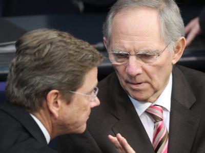 Westerwelle und Schäuble