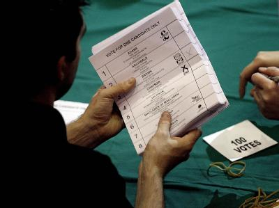 In Großbritannien läuft die Stimmenauszählung.