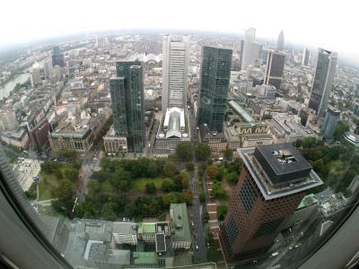 Bankent�rme in Frankfurt