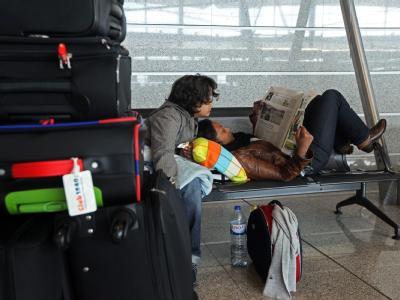Flughafen in Porto