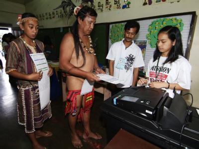 Präsidentenwahlen auf den Philippinen