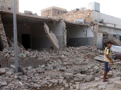 In Falludscha wurden mehrere Häuser in die Luft gesprengt, die von Angehörigen der Sicherheitskräfte bewohnt wurden.