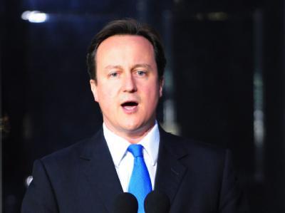 David Cameron folgt Gordon Brown im Amt des Premierministers.