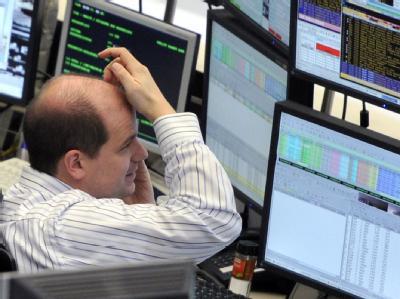 Künftig transaktionssteuerpflichtig? Ein Händer an der Frankfurter Börse.