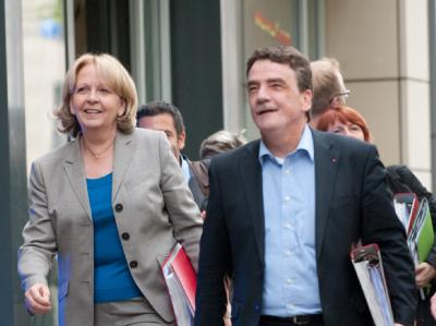 Sondierungsgespräche SPD - Grüne