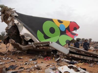 Flugzeugabsturz in Tripolis