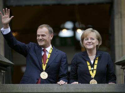 Karlspreis an Donald Tusk