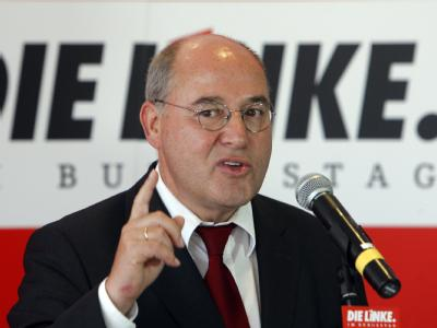 Der Fraktionschef der Linkspartei, Gregor Gysi. (Archivbild)