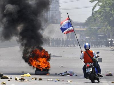 Die Situation in Bangkok spitzt sich immer weiter zu.