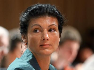 Sahra Wagenknecht ist zu einer der neuen stellvertretenden Vorsitzenden ihrer Partei gewählt worden.