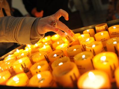 Mehr als 100.000 Gläubige kamen zum 2. Ökumenischen Kirchentag in München.