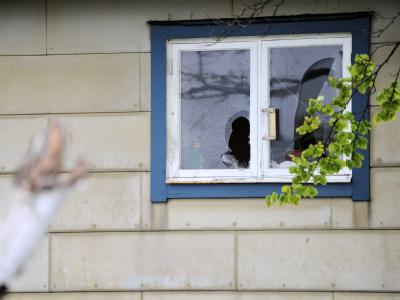 Anschlag auf Vilks-Haus