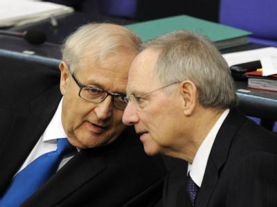 Brüderle und Schäuble