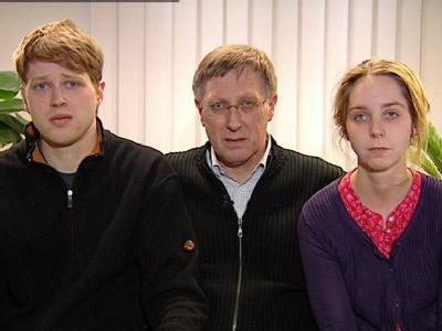 Die Familie von Maria B. hat sich im Fernsehen an die Entführer gewandt (Foto: ZDF/Securitel)