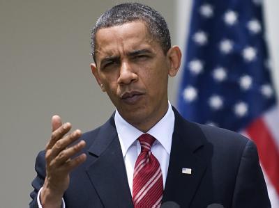 US-Präsident Obama während einer Pressekonferenz am Mittwoch in Washington.