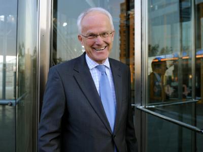 Ministerpräsident Jürgen Rüttgers (CDU) zeigt sich über den Abbruch der rot-rot-grünen Gespräche erfreut.