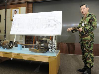 Ein nordkoreanischer Torpedo soll die südkoreanische Korvette «Cheonan» versenkt haben.