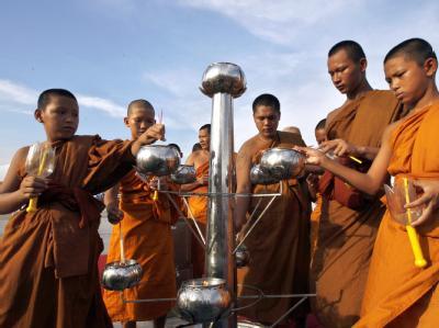Friedensgebete in Thailand